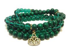 Green  Lotus Necklace 108 Mala Beads Flower by ShamisesBlissful   #jewelry #etsy #yoga #meditation #yogalove #namaste #enlightenment #consciousness #spirituality #spiritual #awakenedmind #awakenedsoul #etsyshop #etsystore #etsyseller #etsyshopowner #etsylove #etsygifts #om #ohm #yogajewely #yogalove #etsyshopowner #etsylove #etsygifts #etsyhandmade #etsyfavorites #namaste #enlightenment #consciousness #spirituality