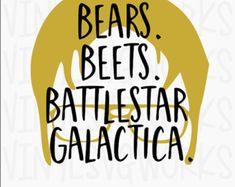 Risultati immagini per bear beets battlestar galactica