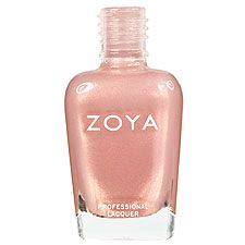 Zoya Nail Polish | Felicity  Color Description of Zoya Nail Polish Felicity    Zoya Nail Polish in Felicity can be best described as: Soft dusty tea-rose pink with champagne and bright pink duochrome shimmer and flecks of gold. Multifaceted, magical and very unique, definitely not your average plain pink.