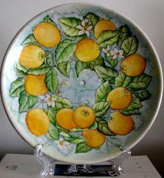 ceramica siciliana limoni