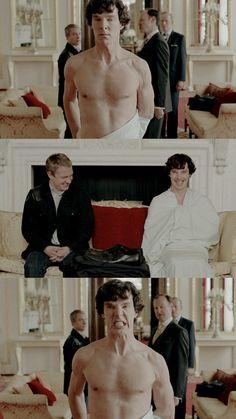 Get off of my dude's sheet, Mycroft! Sherlock Holmes Series, Sherlock Poster, Sherlock Cast, Sherlock Fandom, Watson Sherlock, Sherlock Quotes, Sherlock John, Jim Moriarty, Sherlock Holmes Benedict Cumberbatch