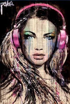"Saatchi Art Artist Loui Jover; Drawing, ""DJ"" #art"