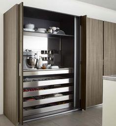 Kitchen Room Design, Modern Kitchen Design, Home Decor Kitchen, Kitchen Living, Interior Design Kitchen, Kitchen Furniture, Home Kitchens, Cheap Furniture, Pantry Design