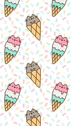 pusheen the cat iphone wallpaper Cute Wallpaper Backgrounds, Cute Cartoon Wallpapers, Aesthetic Iphone Wallpaper, Cute Animal Drawings, Kawaii Drawings, Cute Drawings, Cat Wallpaper, Kawaii Wallpaper, Tumblr Wallpaper