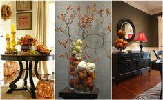 Jak udekorować wnętrza domu jesienią? Kilka genialnych pomysłów