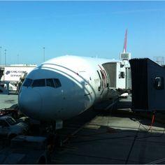 JAL001 bound for Haneda, Tokyo!