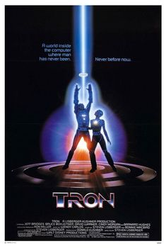 Tron Movie Poster - Internet Movie Poster Awards Gallery