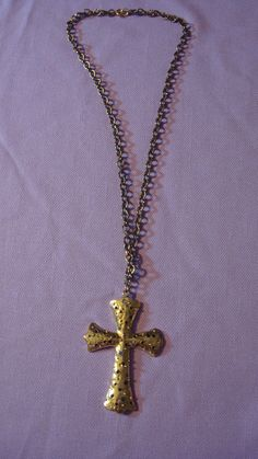 16 inch Long #Silver #Necklace #Chain #Cross  by TheRecycledGreenRose, $29.98