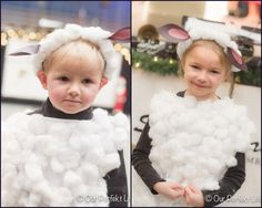 DIY sheep costume!!