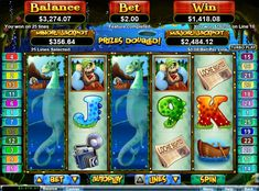 709 times the triggering bet during free spins feature on Loch Ness Loot slot game by RTG.