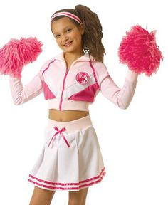cheerleader costumes for kids | Cheerleader Costumes Kids Halloween Costume  sc 1 st  Pinterest & Child High School Cheerleader Costume