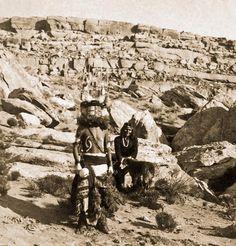 Hopi kachina dance Chief Village of Sichomovi 1901