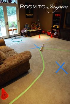 superhero obstacle course -- party idea?