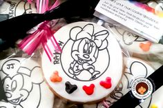 MINNIE Paint Your Own cookies by Isabelle @ Cotati Sugar Mamas   Cookie Connection