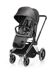 CYBEX Priam with Lux Seat in Manhattan Grey Plus