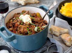 Beef Goulash Recipe - Viva