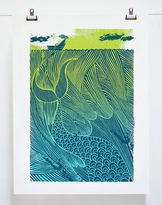 The Sea Monster by tribambuka on Etsy, £65.00