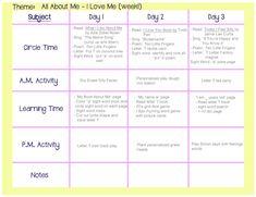 infant blank lesson plan sheets   toddler lesson plan 1   LESSON ...