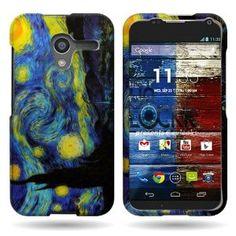Moto X Starry Night phone case