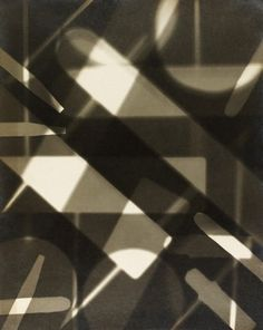 Abstract Photogram, by Curtis Moffat (V&A Custom Print)
