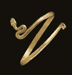 A GREEK GOLD SNAKE BRACELET  HELLENISTIC PERIOD, CIRCA 2ND-1ST CENTURY B.C.