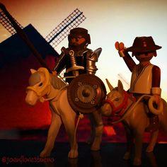 Don Quijote y Sancho Panza. #playmobil #playmobilgram #playmobilgram #playmobilespaña #playmobilfan #playmobillove #playmogram #playmobillovers #playmo #playmobilfigures #playmobiliger #playmobilfans #playmobiligers #playmobilovers#fashion#famobilgram#famobiligers#famobillovers#famobil#famobilfans#quefueeertaaaa#quemeestascontando#peroestoquees#porDior#parecementerio #quijote #donquijoteysanchopanza#playmobilquixote