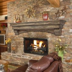 Pearl Mantels 48 Mantel Shelf Celeste Dune Pine Decorating your electric fireplace, wood fireplace, bio-ethanol fireplace, or any other kind of fireplace with this 48 inch mantel shelf Brick Fireplace Mantles, Fireplace Shelves, Wood Mantels, Rustic Fireplaces, Mantel Shelf, Farmhouse Fireplace, Open Fireplace, Fireplace Remodel, Fireplace Design