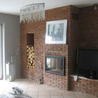 KOMINEK..... z cegły..recznie wyrabianej, to było moje marzenie – Deccoria.pl – inspiracje w galerii KOMINEK..... z cegły..recznie wyrabianej,