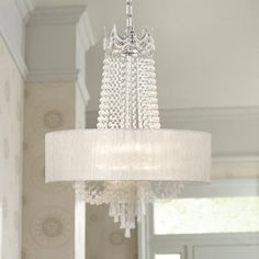 Schonbek refrax stainless steel eight light pendant wswarovski hallie 21 wide clear crystal chandelier mozeypictures