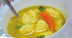 Najlepšia domáca polievka s knedličkami z krupice pripravená za 20 minút! - Báječná vareška
