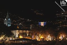 Christmas lights at Madeira Island!