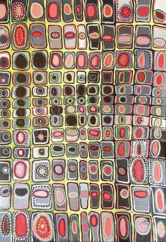 "Saatchi Online Artist: Laura Vizbule; Oil, 2012, Painting ""The circleII"""