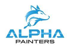 "Winning logo for ""Alpha Painters"" by ""kreativeGURU"" Animal Logo, Logo Ideas, Logos, A Logo, Legos"