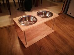 dog dishes holder - my own product