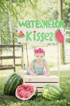 Watermelon Stand--- Watermelon Party!