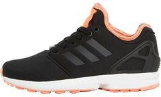 adidas Originals Womens ZX Flux NPS 2.0 Trainers Black/Flash
