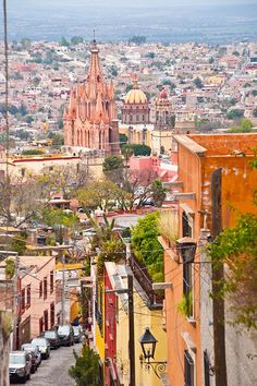 The Hills of San Miguel de Allende. CAN NOT wait till I'll be walking these streets in April! Beautiful Places In The World, Beautiful Places To Visit, Wonderful Places, Places To Travel, Places To See, Holidays To Mexico, South Of The Border, Amazing Destinations, Travel Destinations