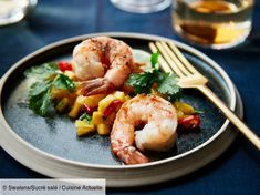 undefined Seafood Salad, Fish And Seafood, Gourmet Recipes, Healthy Recipes, Healthy Food, Chutney, Fine Dining, Food Inspiration, Foodies