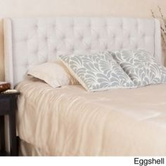 Christopher Knight Home Perryman Tufted Fabric Headboard