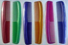 Mens Hair Brush Salon Barber Coloured Combs Brand New Free Shipping | eBay