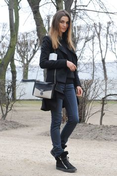 Winter Elegance - High Fashion in Low Temps - Street Style Inspiration - StyleBistro