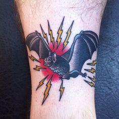 bat tattoo traditional - Google Search