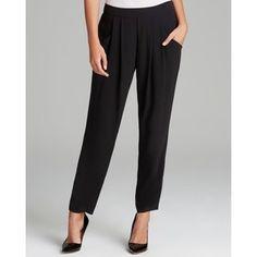 Eileen Fisher Petites Slouchy Silk Pants