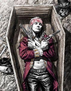 Axl Rose rock bands Guns N' Roses long hair Lee Bermejo rock and roll Axl Rose, Guns N Roses, Pop Rock, Rock N Roll, Heavy Metal, Art Ancien, Rock Posters, Rock Legends, Comic Book Artists