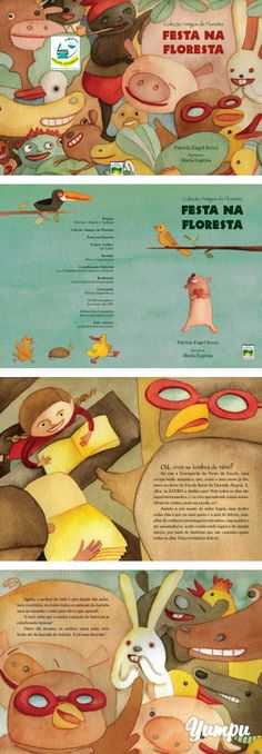 Festa na Floresta - Reciclick - Magazine with 14 pages: Festa na Floresta - Reciclick