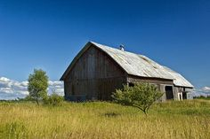 Old Western Michigan barn