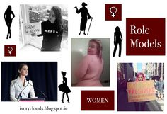 Female Role Models in life. Feminism and activism. Author Louise O Neill. Emma Watson, Scarlett Curtis