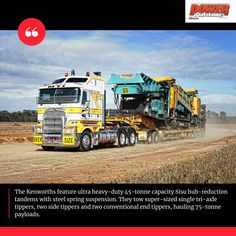 he brothers sold 20 trucks to bring the tally back to 16 which is what they describe as the 'sweet spot' for the business. #powertorque #truckingaustralia #heavyhaulage