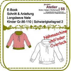 E-book   Bildernähkurs   langarmshirt Nele - €4.50