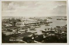 Pelabuhan ujung 1920an